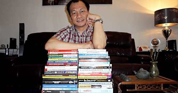 Kelvin Wong and his property investing books