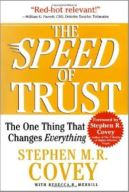 The Speed of Trust by Stephen Covey